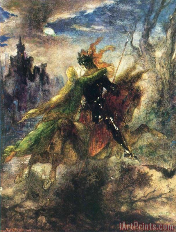 Gustave Moreau The Ballad Art Print