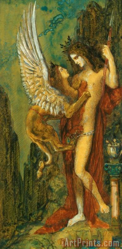 Gustave Moreau The Sphinx Art Print