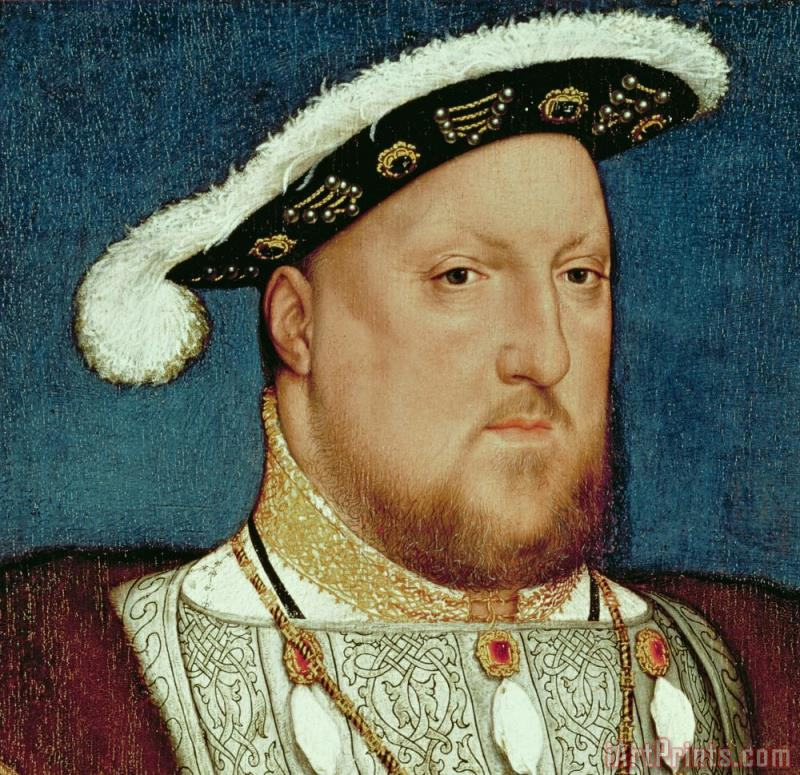 King Henry VIII painting - Hans Holbein the Younger King Henry VIII Art Print