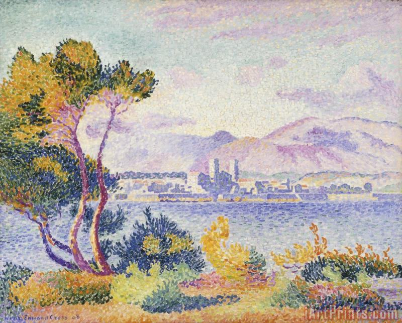 Antibes Afternoon painting - Henri-Edmond Cross Antibes Afternoon Art Print