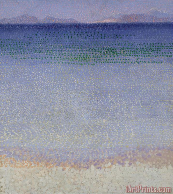 The Iles dOr painting - Henri-Edmond Cross The Iles dOr Art Print
