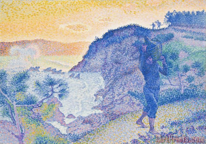 The Return of the Fisherman painting - Henri-Edmond Cross The Return of the Fisherman Art Print