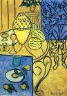 1946 Prints - Interior in Yellow 1946 by Henri Matisse