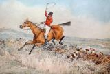 Fox Hunting by Henry Thomas Alken