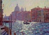 The Grand Canal Shortly After Sunrise by Hugo Grenville