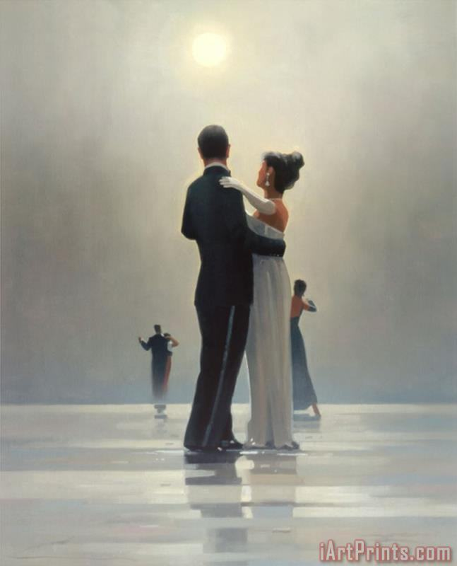 Dance Me to The End of Love painting - Jack Vettriano Dance Me to The End of Love Art Print