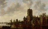 River Landscape With The Pellecussen Gate Near Utrecht by Jan Josephsz van Goyen