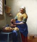 The Milkmaid by Jan Vermeer