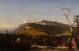 Catskill Mountain House by Jasper Francis Cropsey