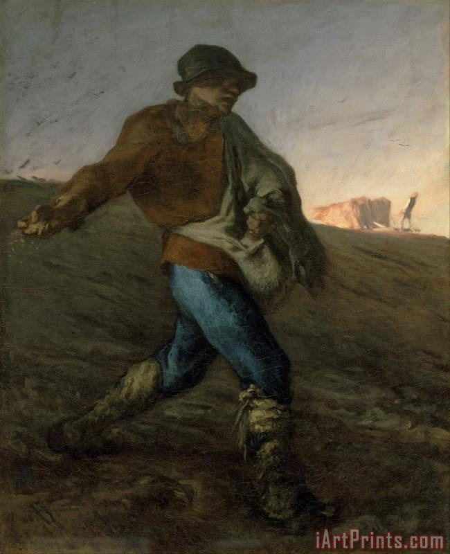 Jean-Francois Millet The Sower Art Print