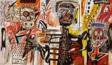 Philistines by Jean-michel Basquiat