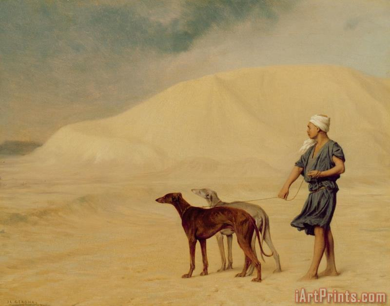 Jean Leon Gerome In the Desert Art Print