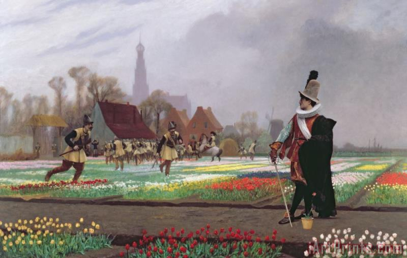 Jean Leon Gerome The Tulip Folly Art Print
