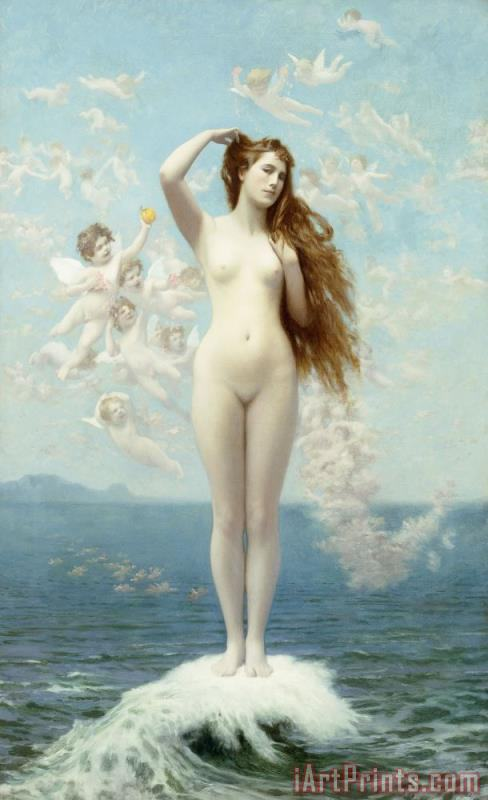 Jean Leon Gerome Venus Rising The Star Art Painting