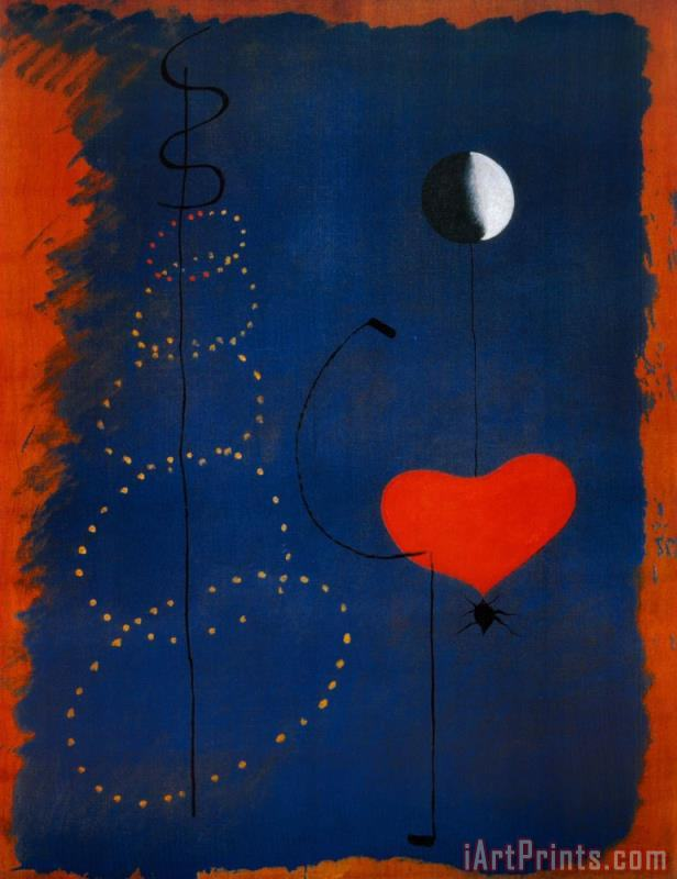 Ballerina Dancer painting - Joan Miro Ballerina Dancer Art Print