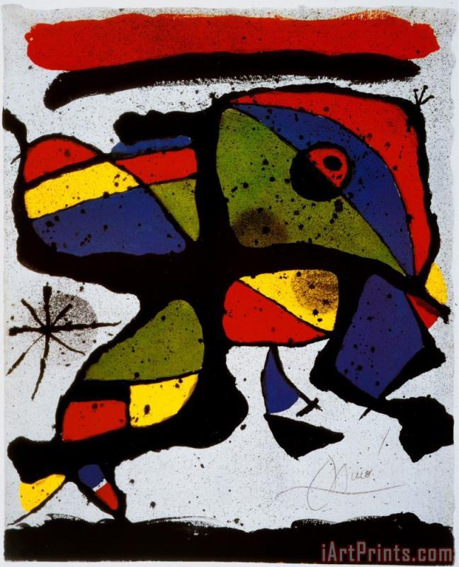 Joan Miro Composition Art Print