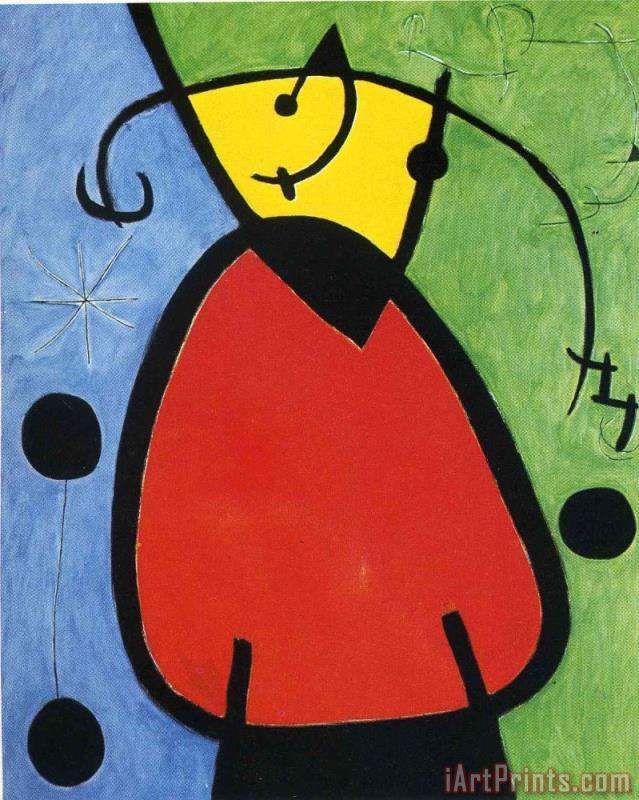 The Birth of Day painting - Joan Miro The Birth of Day Art Print