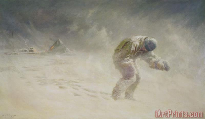 A very gallant gentleman painting - John Charles Dollman A very gallant gentleman Art Print