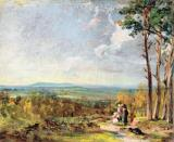 Hampstead Heath Looking Towards Harrow by John Constable