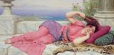 Noon Day Rest by John William Godward