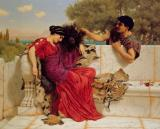 The Old Story by John William Godward
