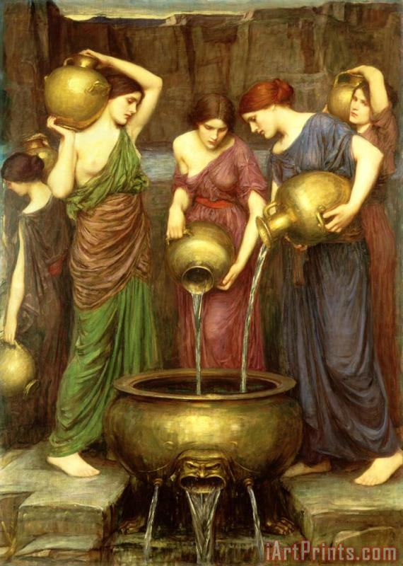 John William Waterhouse Danaides Art Print
