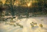 The Shortening Winters Day is Near a Close by Joseph Farquharson