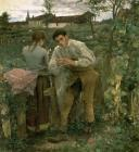 Rural Love by Jules Bastien Lepage