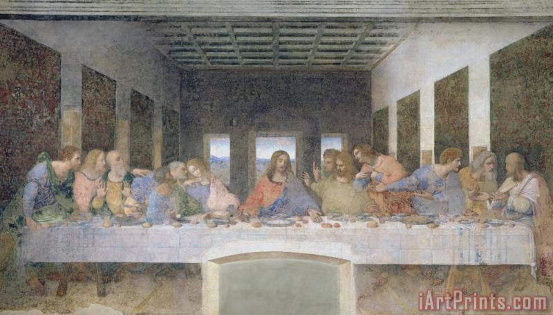 Leonardo da Vinci The Last Supper Art Print