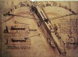 Design for a Giant Crossbow by Leonardo Da Vinci