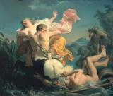 The Abduction of Deianeira by the Centaur Nessus by Louis Jean Francois Lagrenee