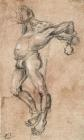 Crucifix Drawing by Lucas Cranach the Elder