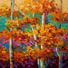 Abstract Autumn III by Marion Rose
