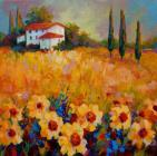 Tuscany Sunflowers by Marion Rose