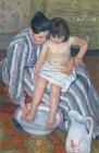 Child's Bath 1893 by Mary Stevenson Cassatt