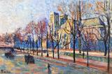View from the Quay Montebello by Maximilien Luce