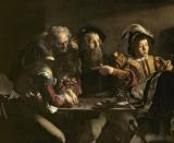 The Calling of St. Matthew by Michelangelo Merisi da Caravaggio