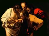 The Incredulity of Saint Thomas by Michelangelo Merisi da Caravaggio