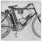 Motorcycle, 1895 by Others