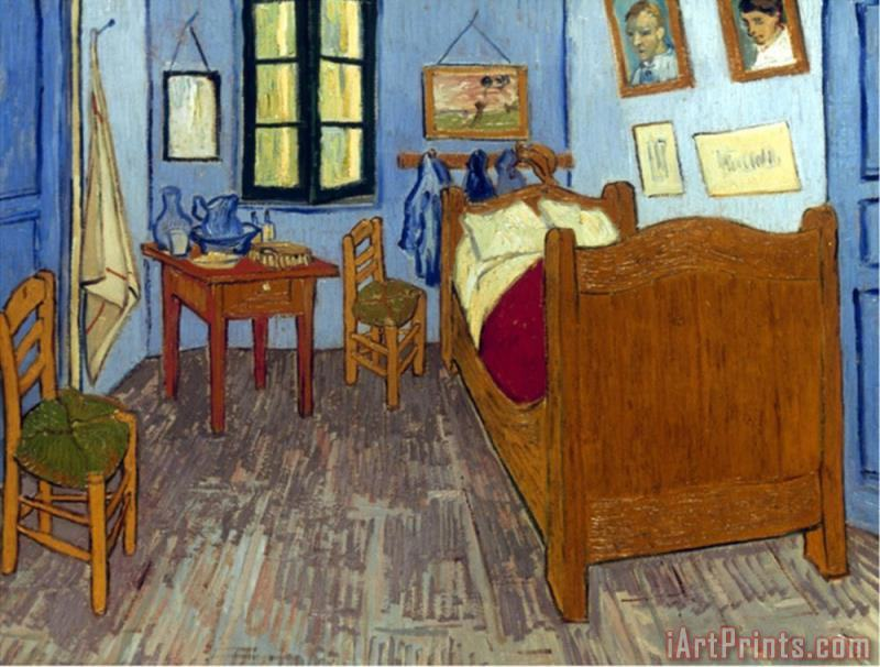 pablo picasso vincent van gogh van gogh bedroom 1889 painting vincent van gogh van gogh. Black Bedroom Furniture Sets. Home Design Ideas