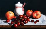 Still Life 'Preserve Pot and Fruit' by Paul Dene Marlor
