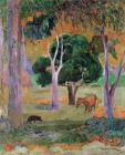 Dominican Landscape by Paul Gauguin