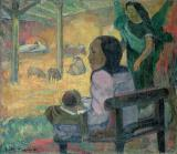 The Nativity by Paul Gauguin