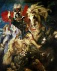 Saint George and the Dragon by Peter Paul Rubens