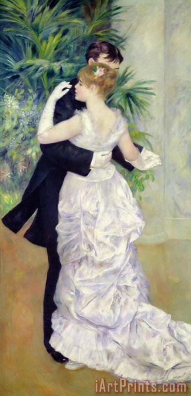 Pierre Auguste Renoir Dance in the City Art Print