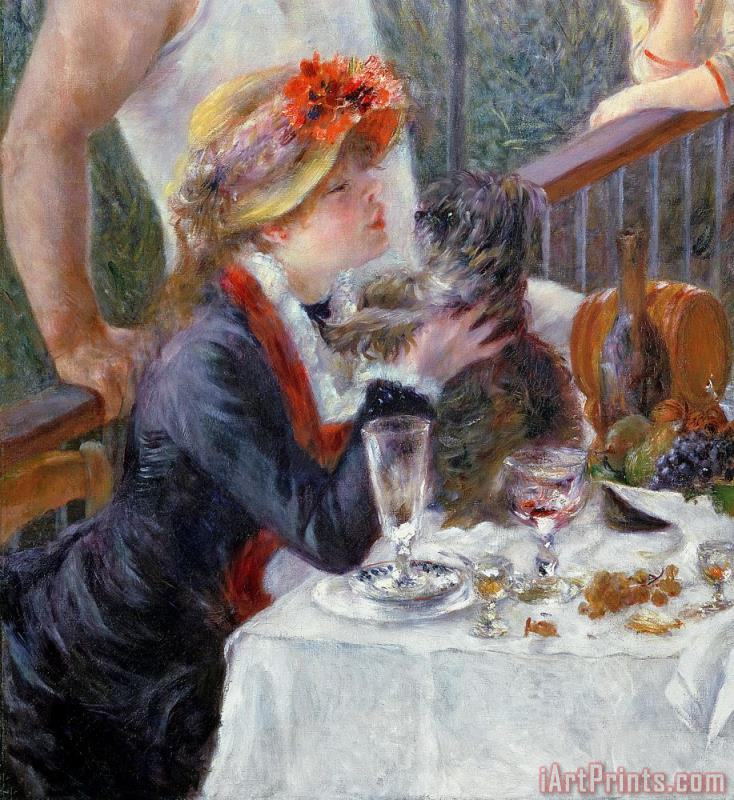 Pierre Auguste Renoir The Luncheon of the Boating Party Art Print