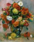 Vase of Flowers by Pierre Auguste Renoir