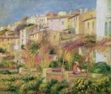 Terrace in Cagnes by Pierre Auguste Renoir