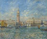 The Doge's Palace in Venice by Pierre Auguste Renoir