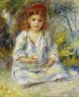 Young Algerian Girl by Pierre Auguste Renoir